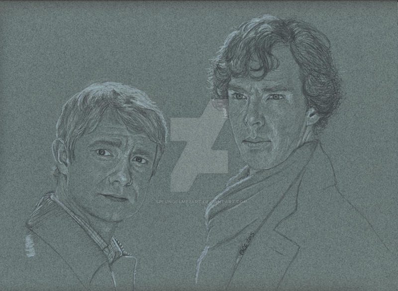 2015 John and Sherlock by Splunge4Me2Art