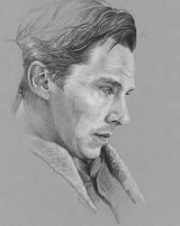 2020 Benedict Cumberbatch Elle by Splunge4Me2Art