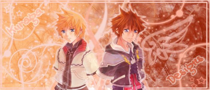 Sora and Roxas by GoddessKairi