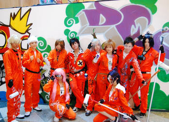 KHR jumpsuit ver at SF08 by stjh-cosplay