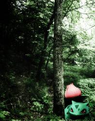 A wild ivysaur appears by stjh-cosplay