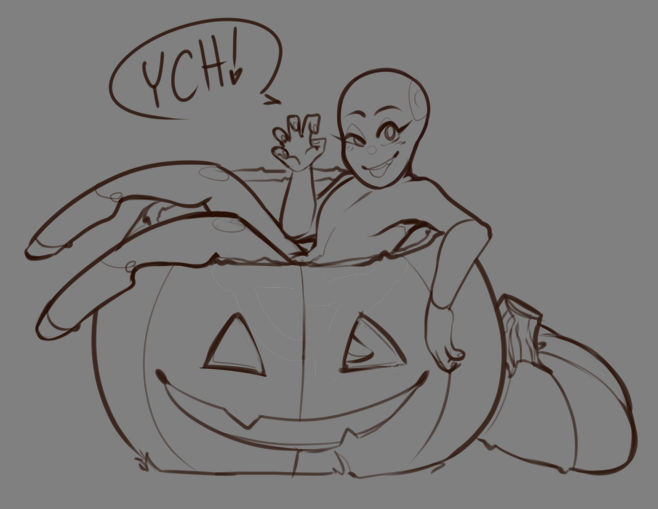 Spooky seat YCH (CLOSED!)