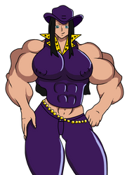 Nico Robin Muscled