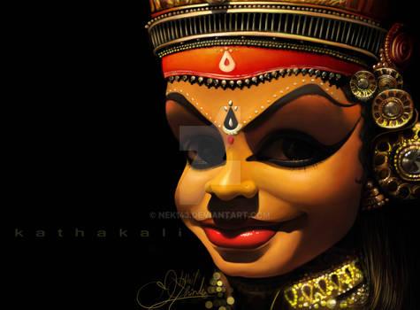 kathakali girl