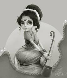 Jayashree Gadkar by nek143
