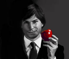 An apple a day... by Icterical