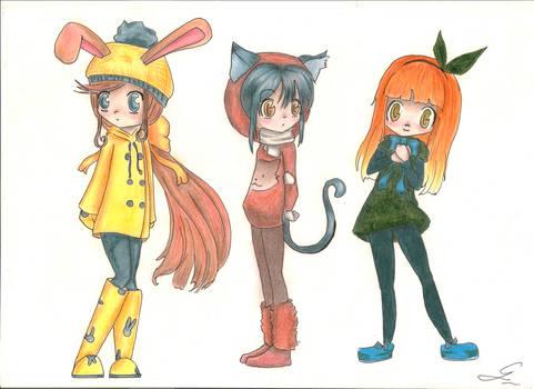 Kawaii girl adoptables (CLOSED)