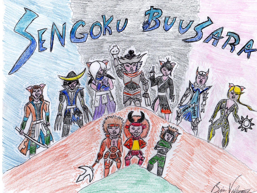 Sengoku Buusara by Bivinz