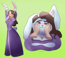 Queen Arianna Bunny Tf