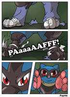 Commission: Little Lost Riolu Page 05 by Rex-equinox