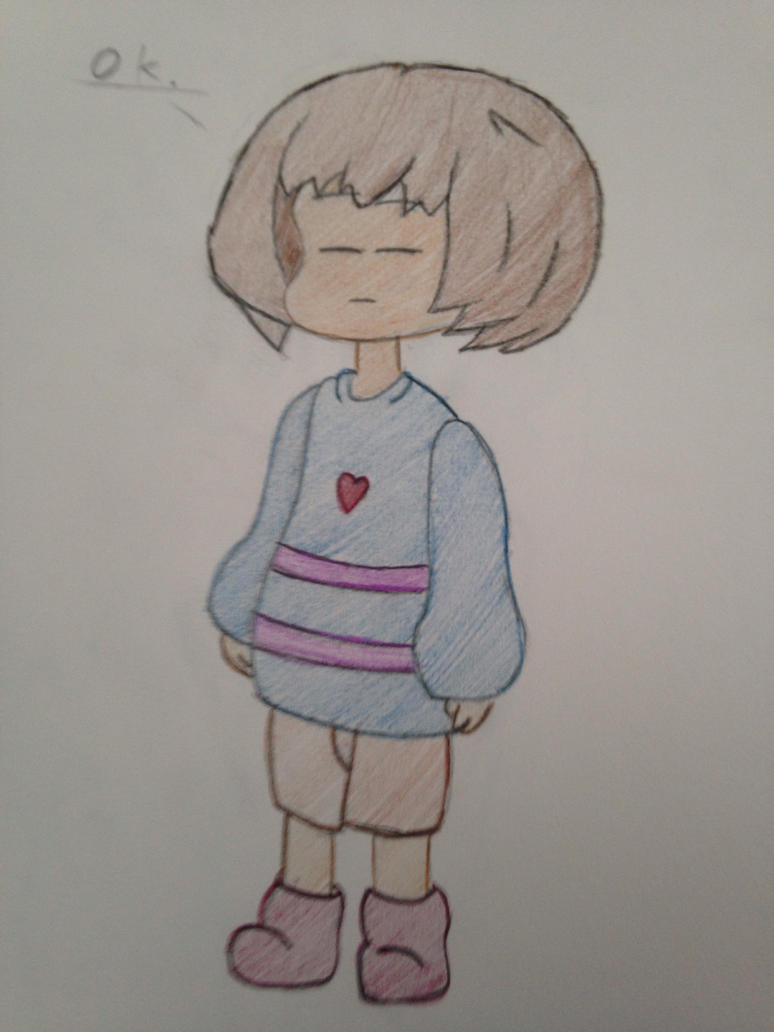 Frisk Updated by TheRealPonykun