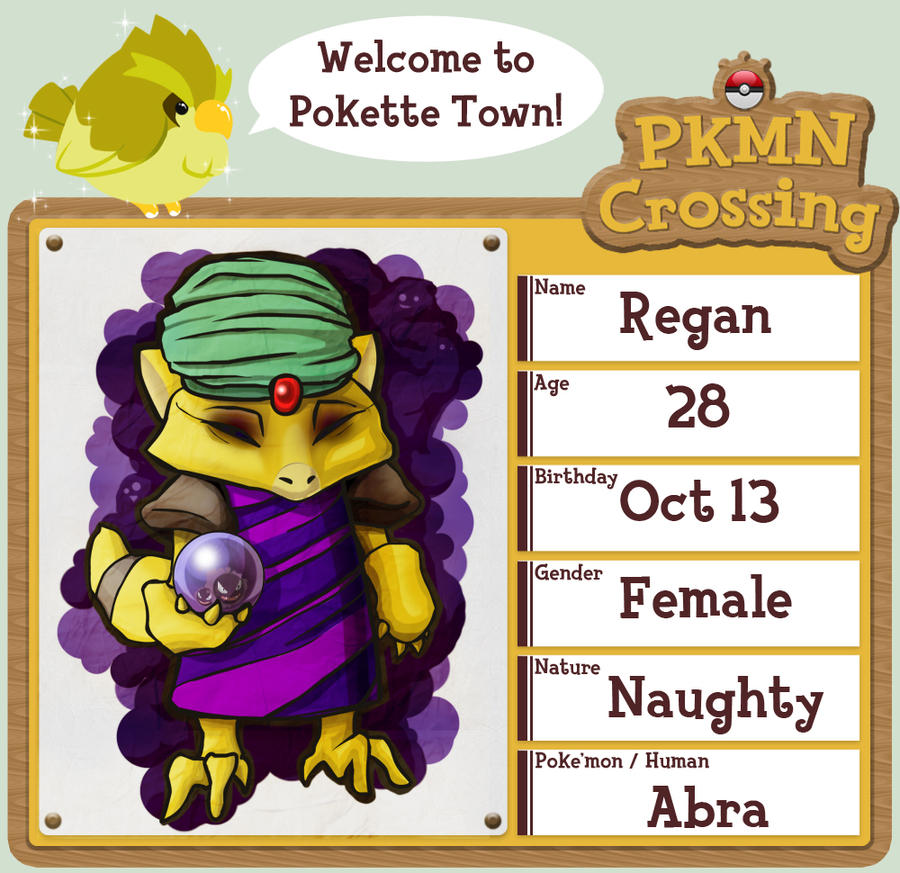PKMN Crossing: Regan by Neriah