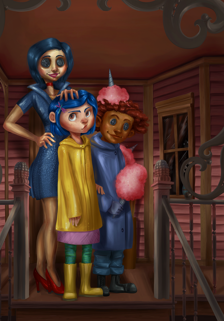Coraline Redraw by Neriah