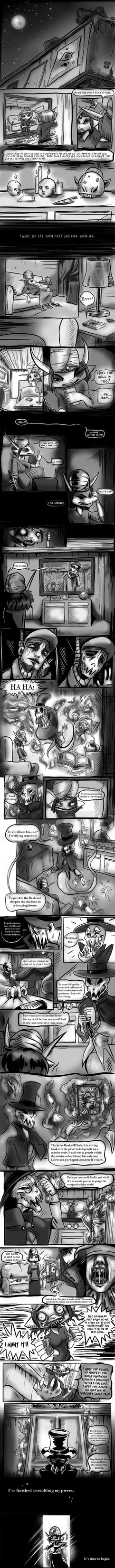 The Haunted Library Regan Audition Page 2 by Neriah