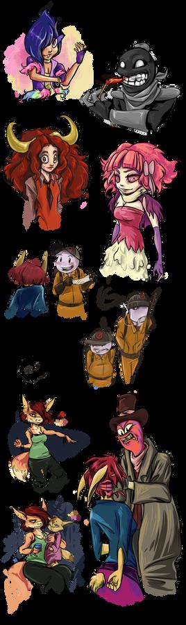HL: Character Doodles