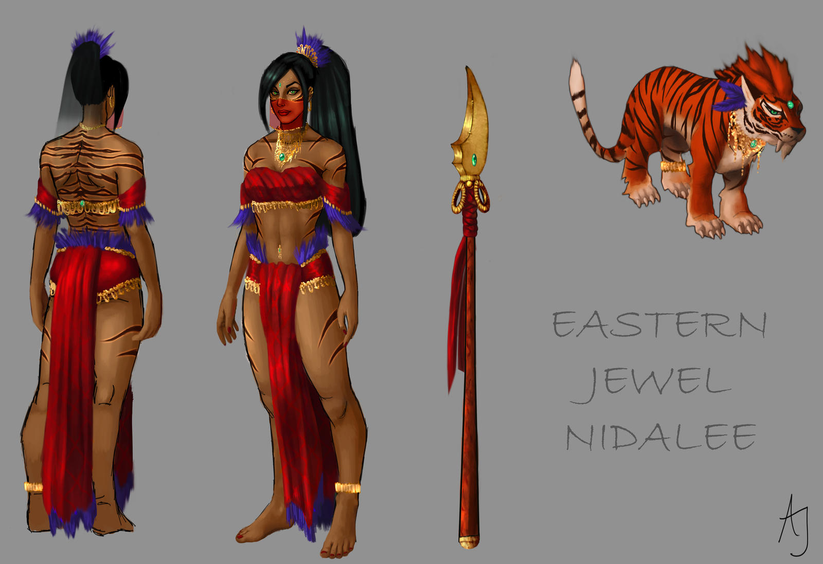 Eastern Jewel Nidalee by Xelandra