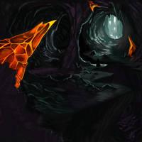 Cave Speedpaint by Xelandra