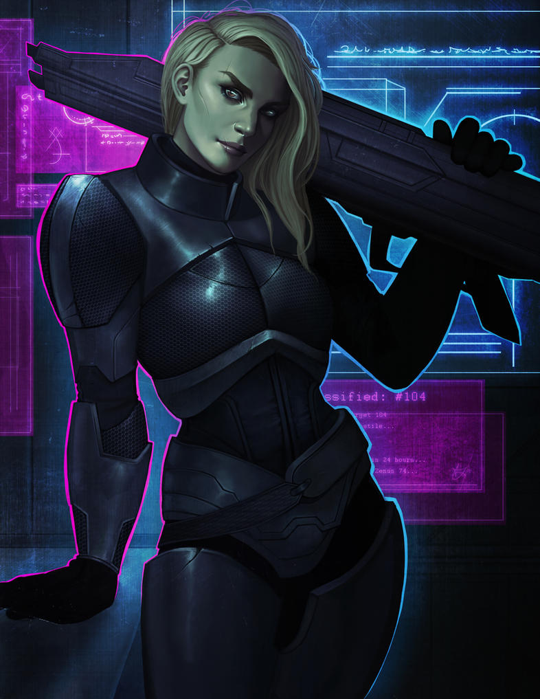 Sci-Fi Soldier by Xelandra