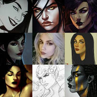 Art vs Artist by Xelandra
