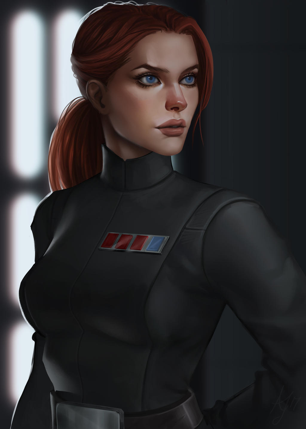 Star Wars Imperial Officer ~ Commission by Xelandra on ...