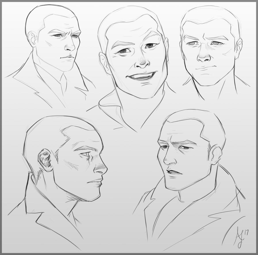 Bastian ~ Weekly Commission Sketch by Xelandra