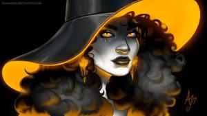 Neon Witch ~ Orange