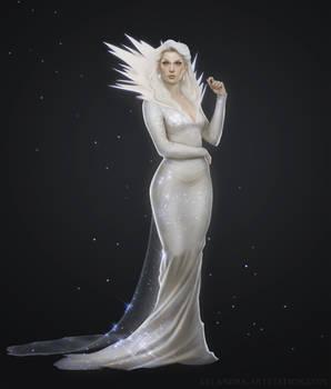 Frost Queen - Character Art by Xelandra