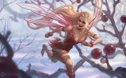 Mischevious Fairy by Xelandra