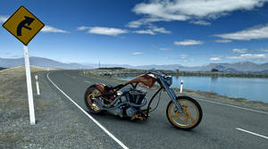 3d Harley Davidson Bobber by PedroPasquale