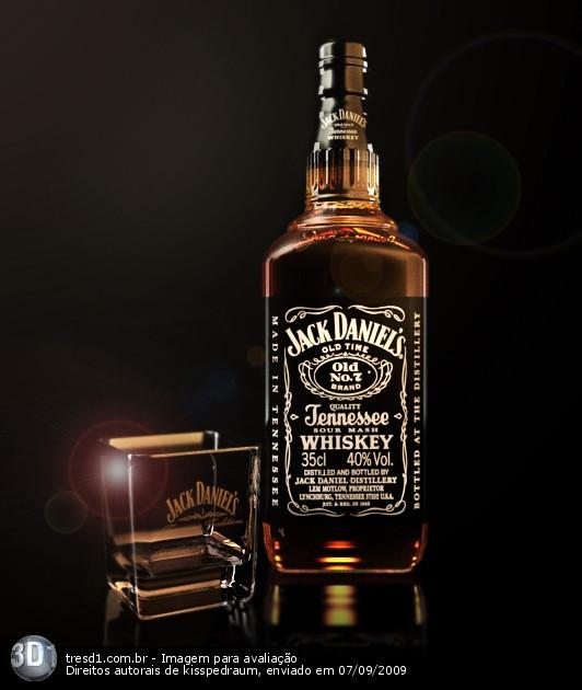 3D - Jack Daniels by PedroPasquale on DeviantArt