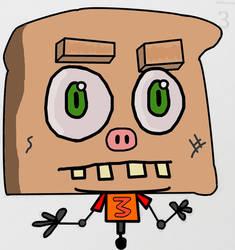 Toastybot by benignInferno