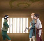 Lee's DOJO- Will she confess? by Samr0iD