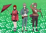 Team Shibata :Futaba.Kintaro:Isshin: by Samr0iD