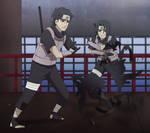 Itachi and Shisui by Samr0iD