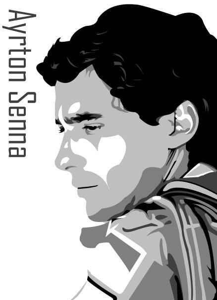 Ayrton Senna by brandoonwa