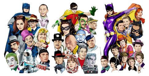 Batman 66 Panel by TenkaraStudios