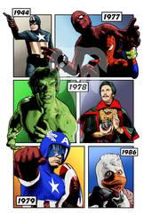 Marvel's Live Action History - Part 1 by TenkaraStudios