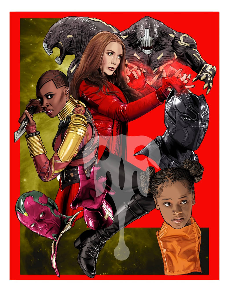 Marvel Infinity_L/Mind Stone by TenkaraStudios
