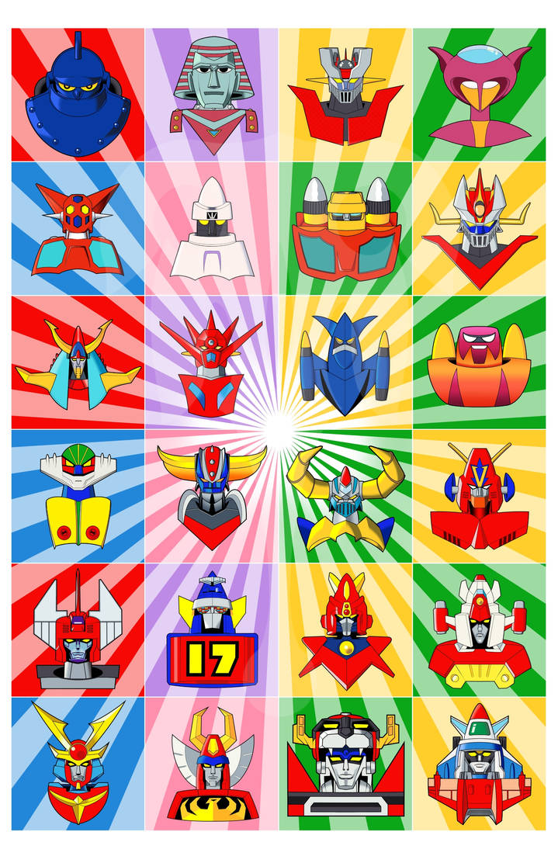 Super Robots by TenkaraStudios