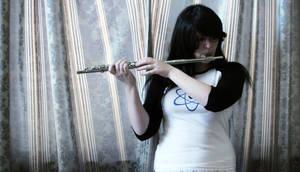 Flute playin'