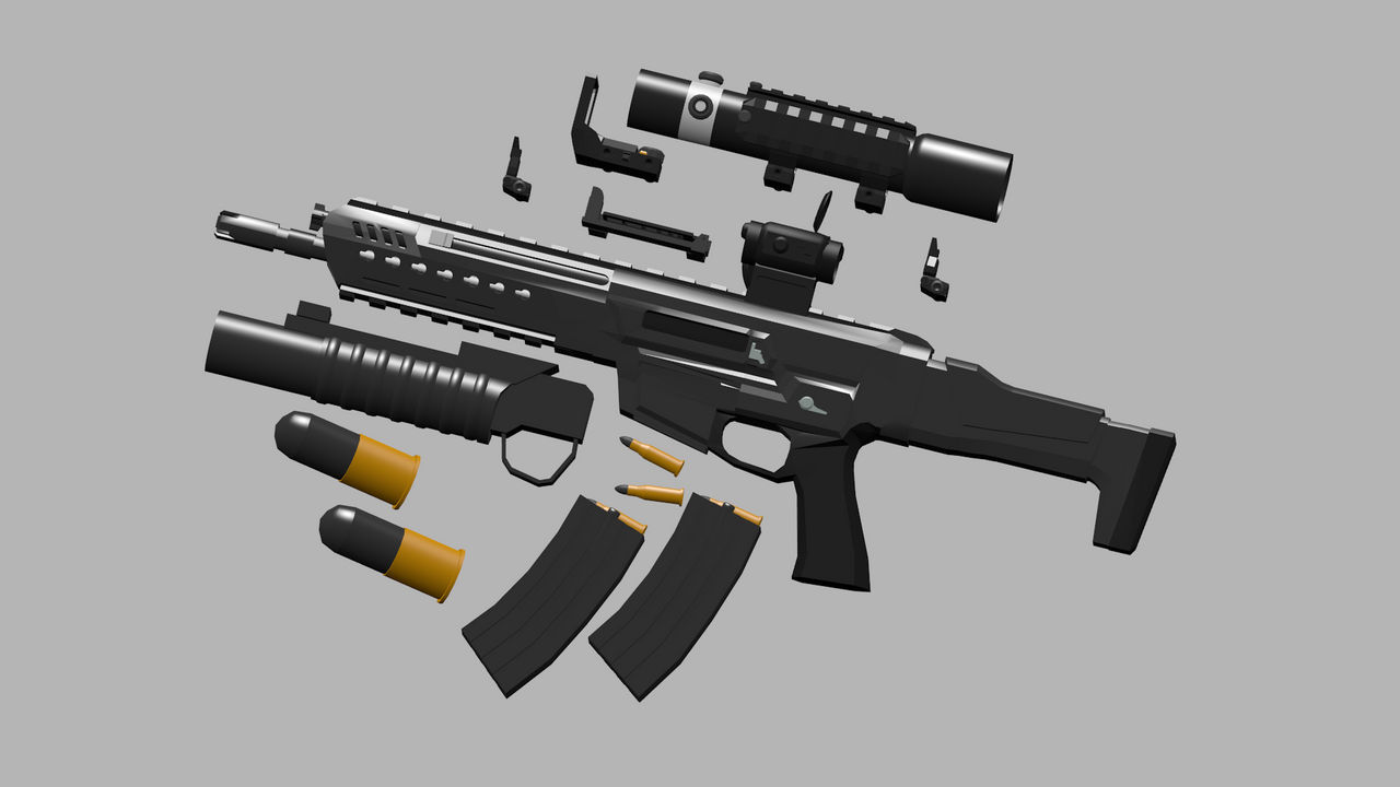 Hk433 Ravenfield mod by AtherLine5 on DeviantArt