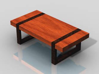 Modern Bench by pfunked