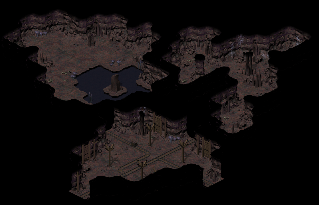 cave tileset by pfunked on deviantart