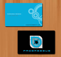 Business Card - Progressus by h4fun