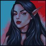 Self portrait. Elf by RinaRinara
