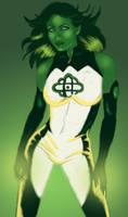 Jade Green Lantern Corps. by Ederoi