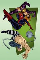 Spider-Man versus... by Ederoi