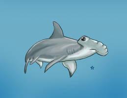 Shark Week: Hammerhead Shark by Ederoi