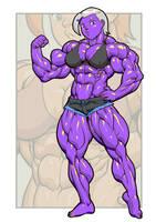 Pokkuti's Gwen (Syx Coloring) by ChromaSplicer