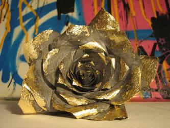 Gold Leaf Rose by East-Van